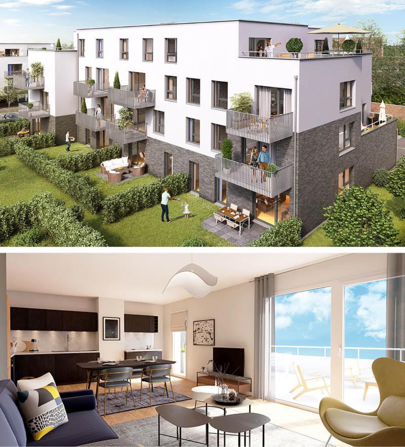 Appartements Neufs Bousbecque O de Lys - Immotissimo 2020