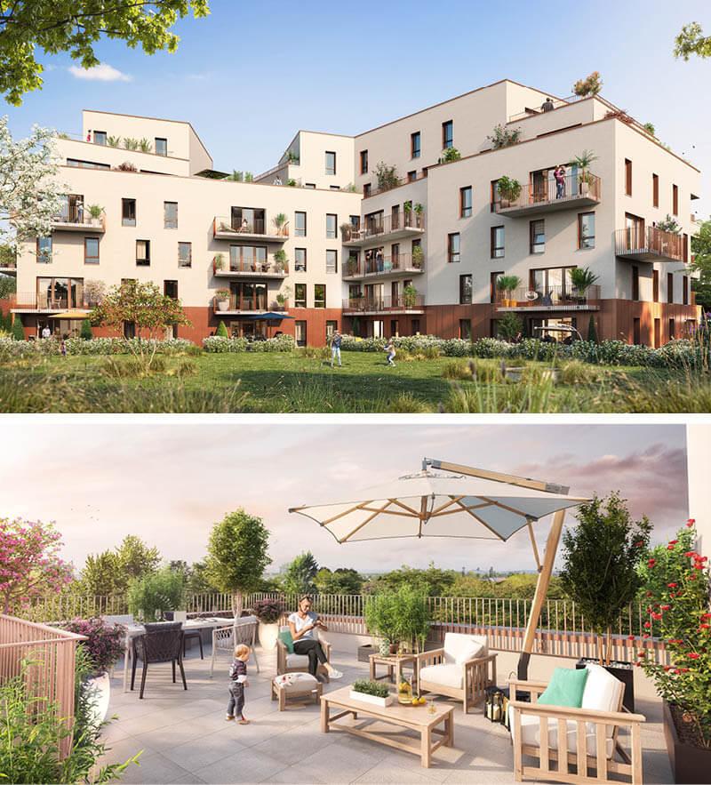 Appartements Neufs Haubourdin Rive Gauche - Immotissimo 2020