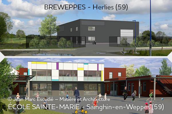 Contractant Général - Ecole et Brasserie - Bâtiments clé-en-main
