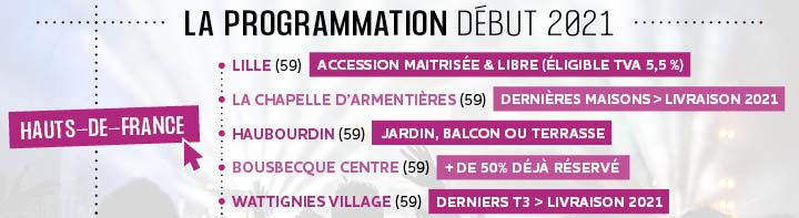 Programmation immobilière 2021_Hauts-de-france