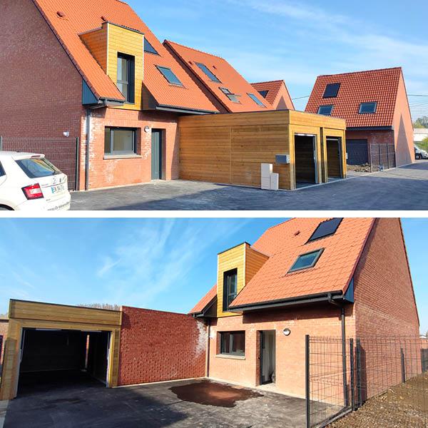 Livraison Maisons neuves Chapelle d'Armentières