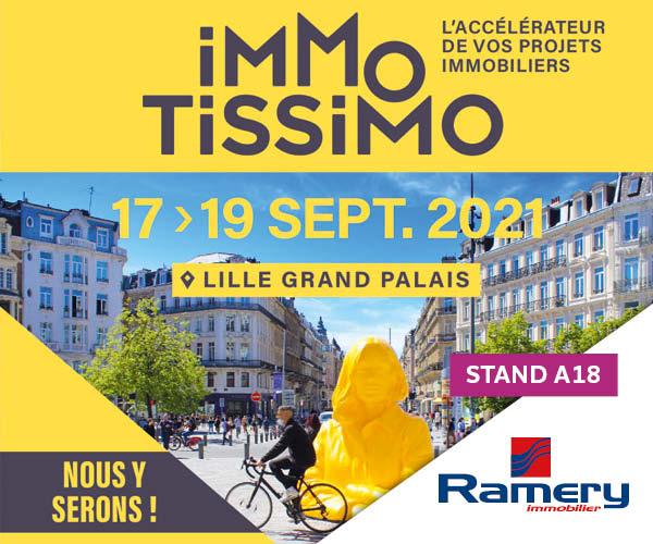 Immotissimo 2021 - Ramery Immobilier - Programmes métropole lilloise